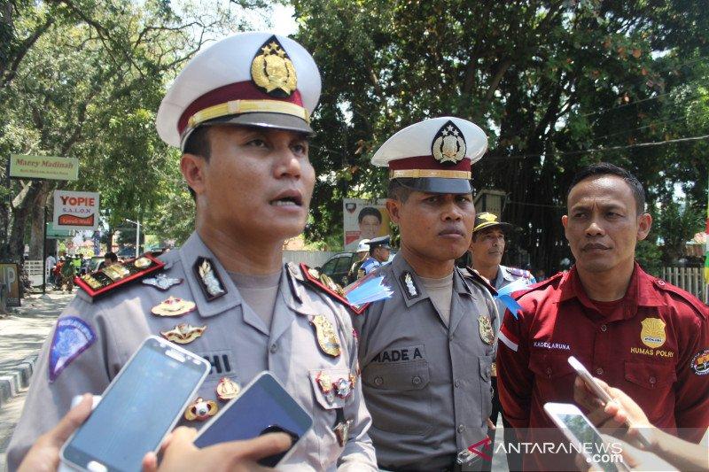 Puluhan pengendara di Palu terjaring hari pertama Operasi Patuh Tinombala