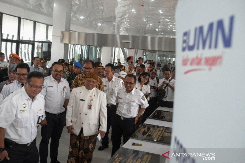 KAI resmikkan ruang tunggu KA Bandara di Stasiun Solo Balapan