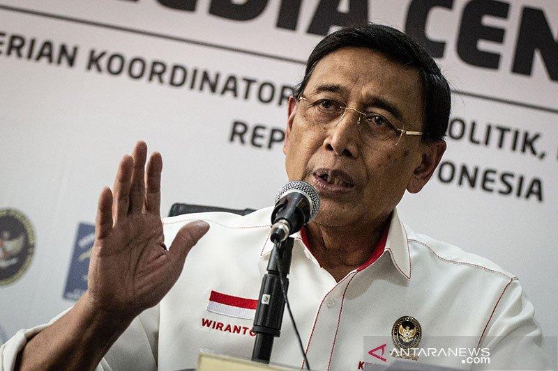 Wiranto tegaskan akan tindak pengibar bendera Bintang Kejora