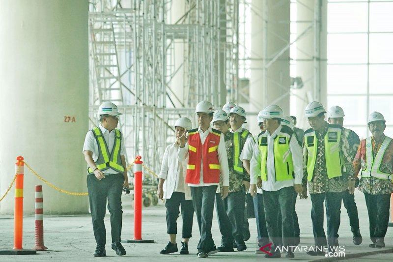 Presiden tinjau pembangunan Yogyakarta International Airport