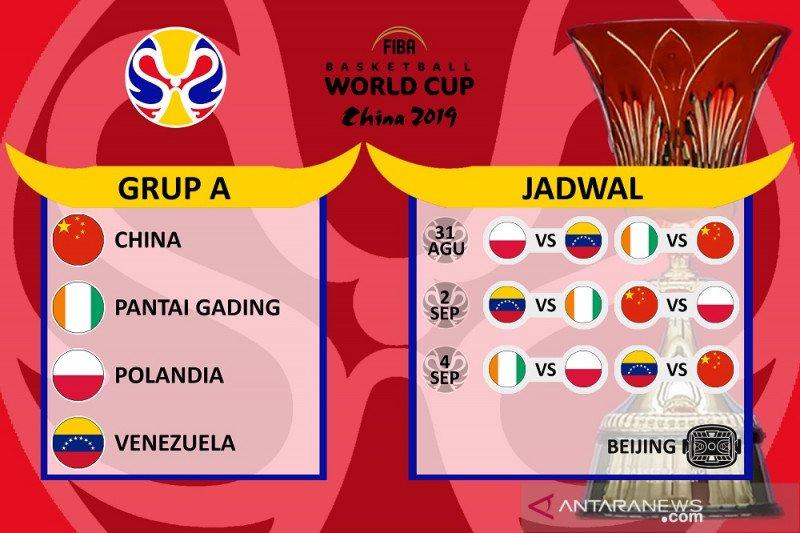 Profil Grup A, rintangan pertama tuan rumah China pada FIBA 2019