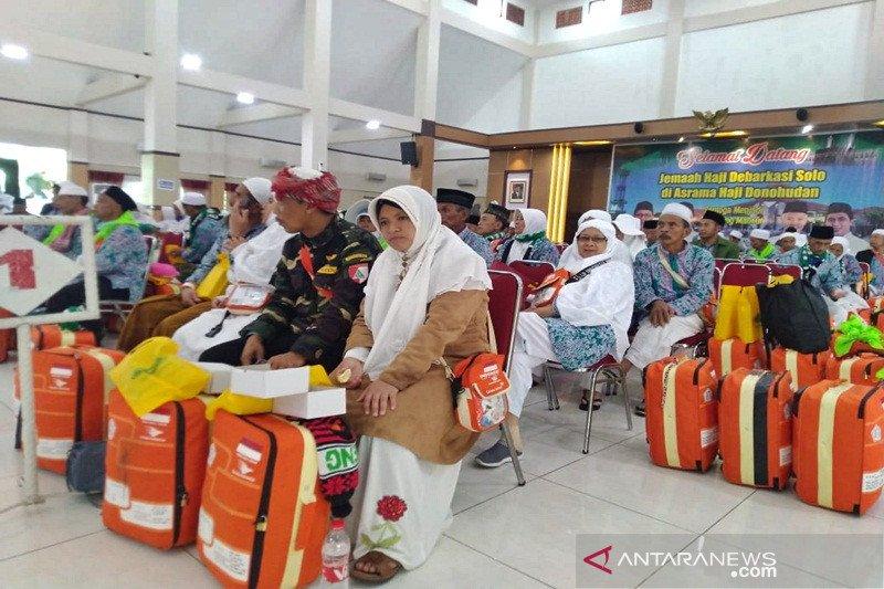 12.915 haji telah dipulangkan melalui Debarkasi Surakarta