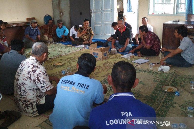 Minta bantuan air irigasi Logung, petani Pati datangi Pemkab Kudus
