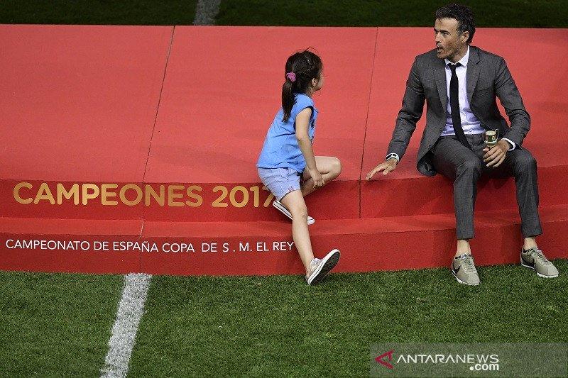 Luis Enrique sebutkan putrinya yang idap kanker tulang berpulang