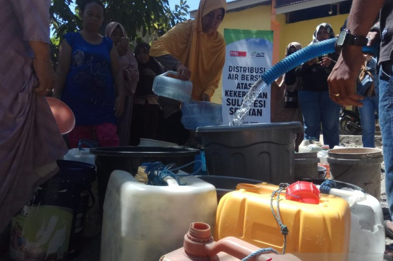 ACT Sulsel sasar warga Takalar distribusi air bersih