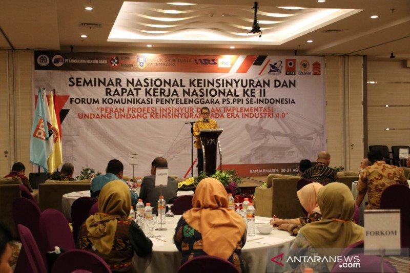 Indonesia masih butuh 850 ribu insinyur