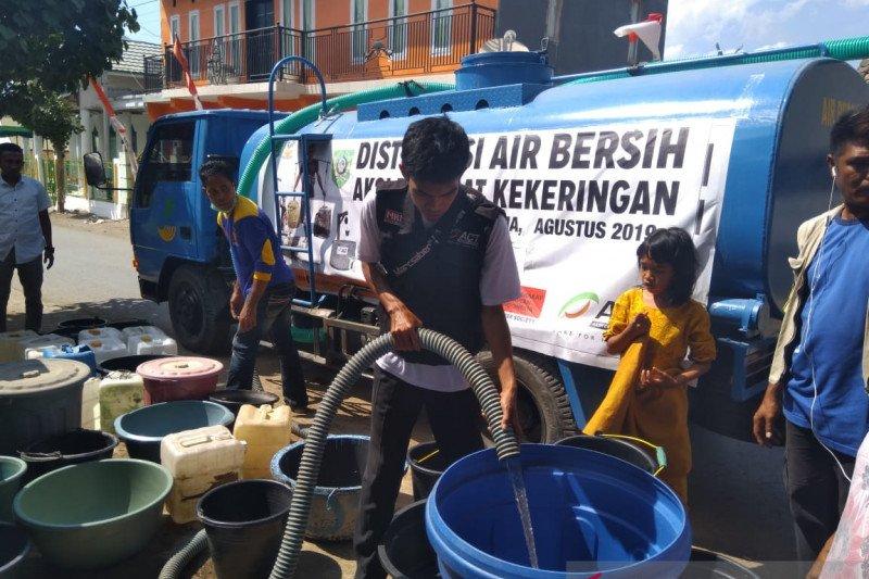 ACT-MRI menyalurkan bantuan air bersih di Bima
