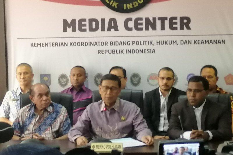 Papua Terkini - Wiranto dan tokoh Papua sepakat akhiri ketegangan di Papua