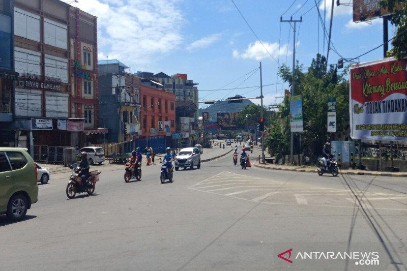 Abepura Jayapura lengang setelah demo rusuh