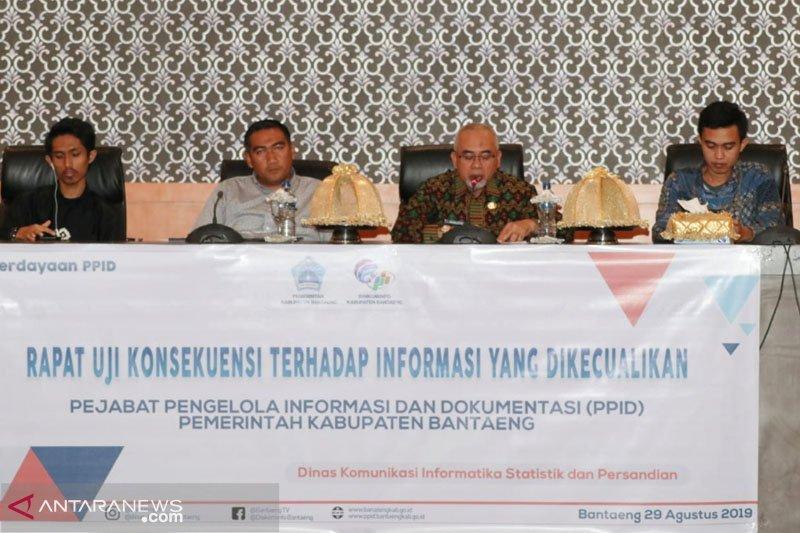 Wabup Bantaeng  harap PPID sampaikan informasi berkualitas dan nyata