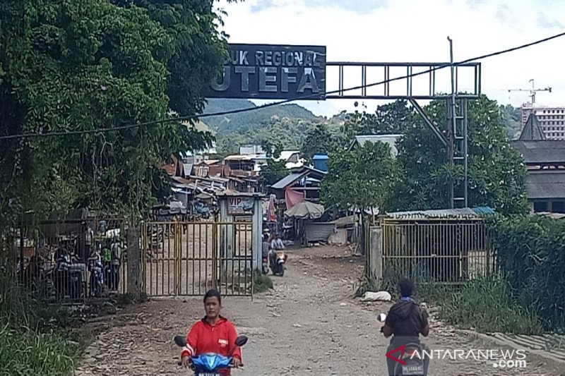 Papua Terkini: Aktivitas Pasar Youtefa Papua sepi