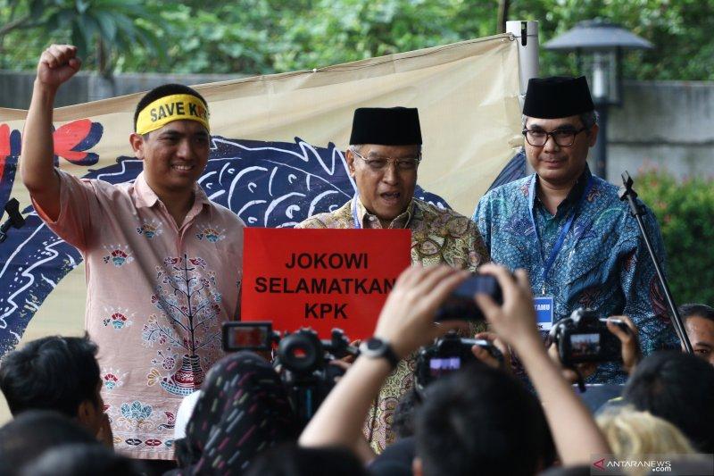 Aksi solidaritas selamatkan KPK