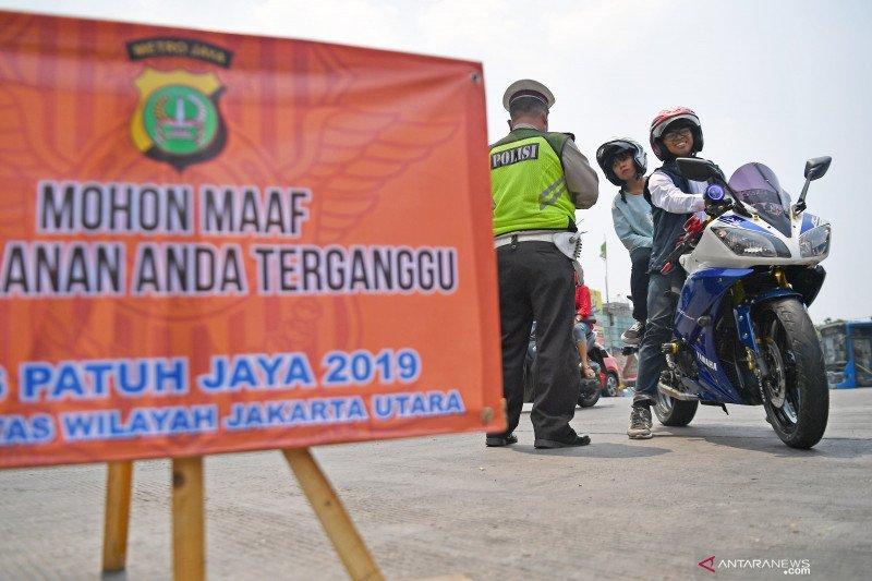 5.376 kendaraan ditilang hari pertama Operasi Patuh Jaya 2019