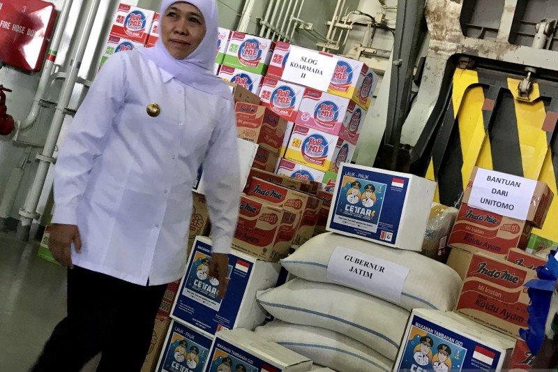 Jatim-TNI AL kirim bantuan logistik ke Papua