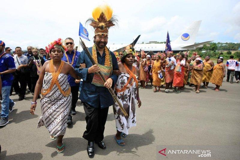 Papua Terkini - Paloh ingatkan persoalan Papua selesaikan kekeluargaan