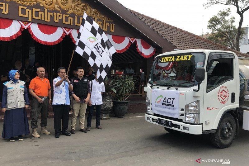 ACT Malang salurkan bantuan air bersih ke wilayah terdampak kekeringan