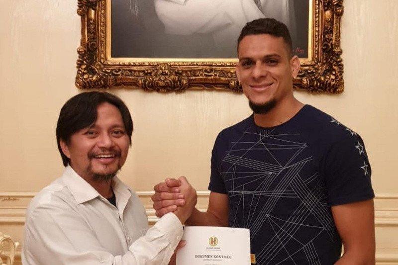 PS Barito Putera mendatangkan Cassio de Jesus dari tim asal Malaysia