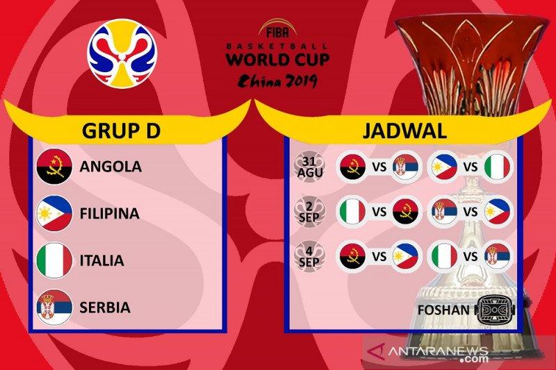 Serbia cari gelar ketiga di Piala Dunia FIBA