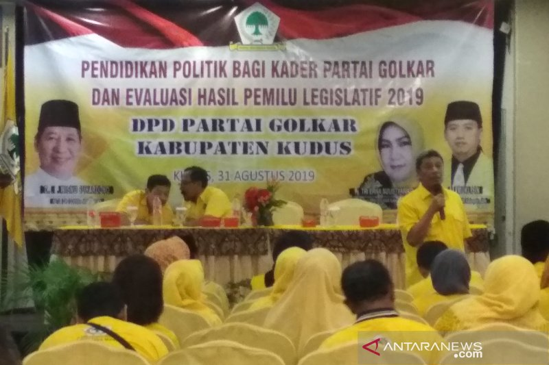 Kader Partai Golkar diingatkan Iqbal jangan sampai korupsi