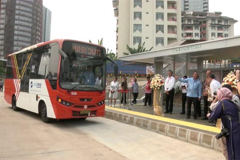 Park and ride untuk pengguna MRT resmi diluncurkan