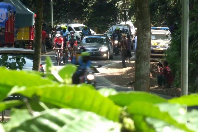 Ajang balap sepeda dan promosi wisata Indonesia