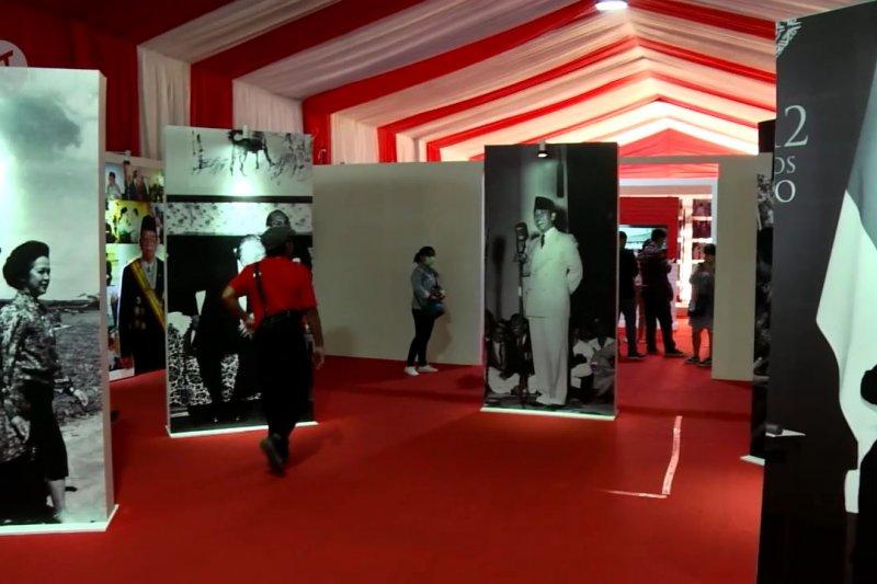 Mengenang sejarah Indonesia di Festival Indonesia Maju