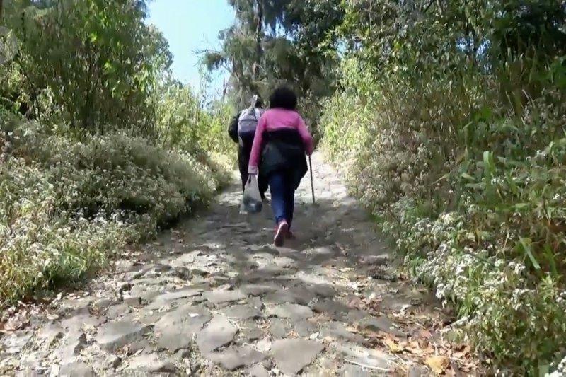 Ribuan pendaki jalani ritual di Gunung Lawu