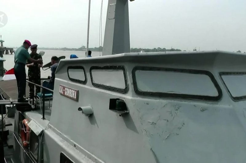 TNI AL tambah 2 armada patroli di perairan Sungai Musi