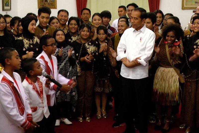 Istana tampilkan talenta muda Indonesia