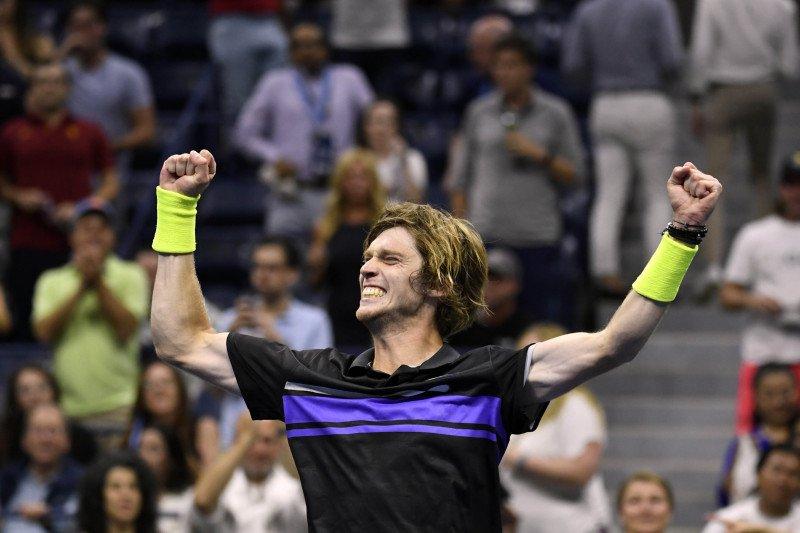 Rublev paksa Kyrgios angkat koper lebih cepat dari US Open