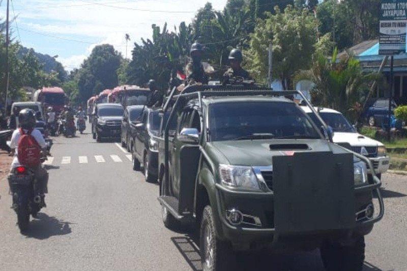 Papua Terkini -- Penyaluran BBM Pertamina masih dikawal aparat keamanan