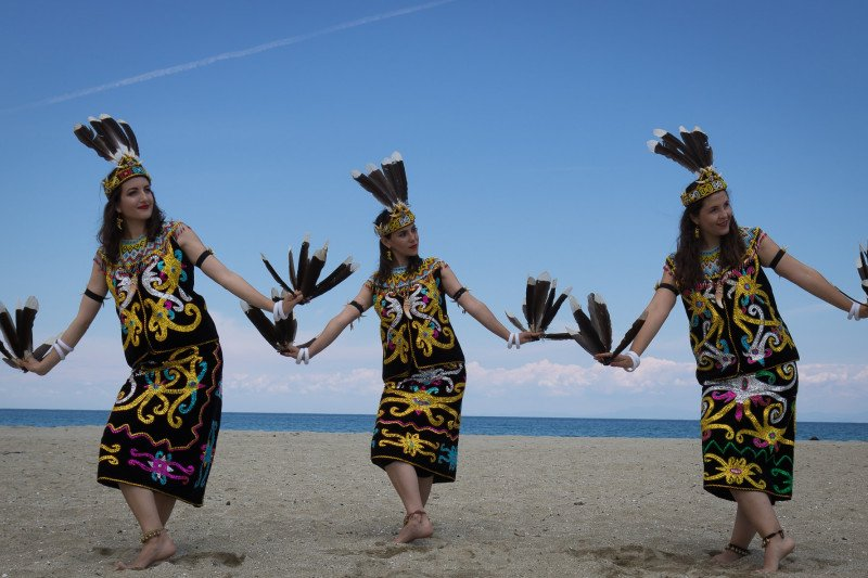 Festival Kalimantan digelar di benteng Kalemegdan Beograd