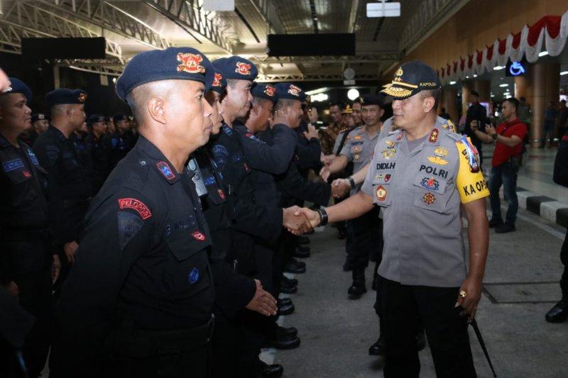 Papua Terkini - Polda Kalbar kirim lagi 180 personel Brimob ke Papua