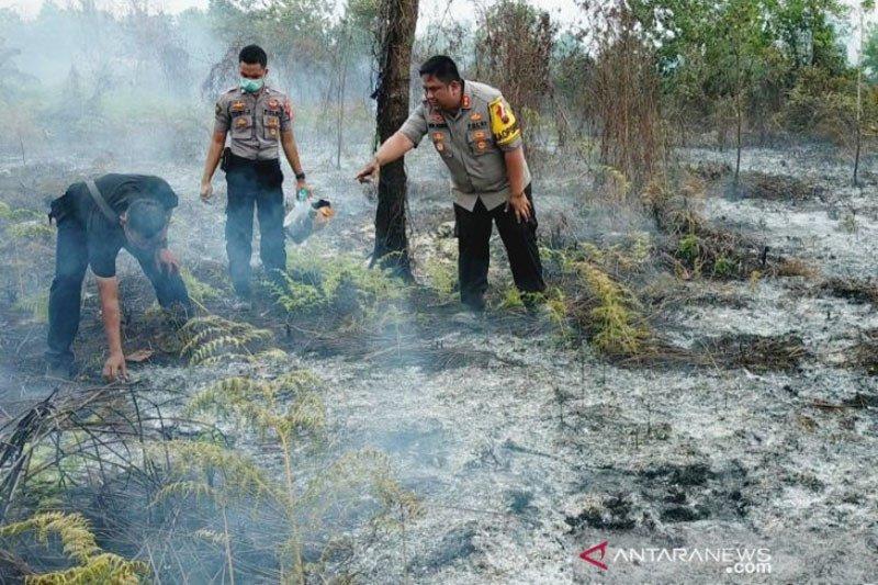 Polres Kotawaringin Timur pastikan tindak tegas pembakar lahan