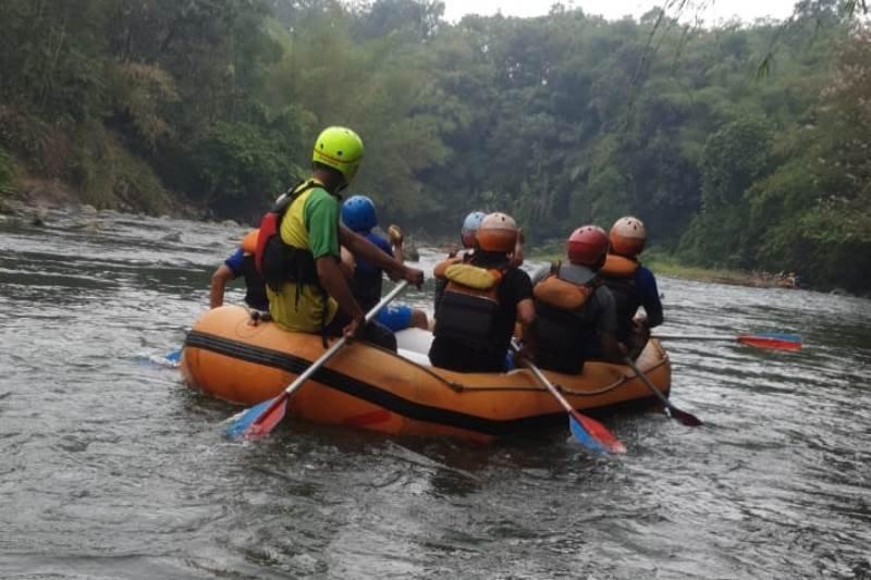 Sejumlah desa di Garut kembangkan wisata arung jeram Sungai Cimanuk