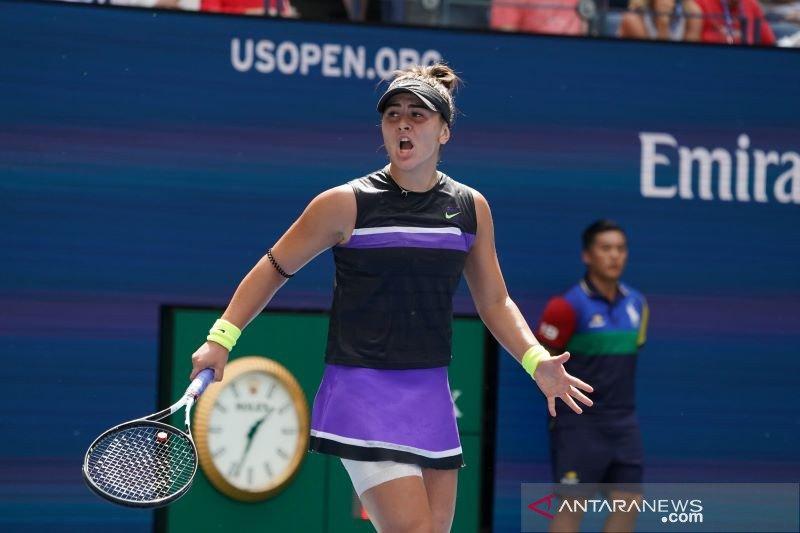 Bianca Andreescu remaja pertama lolos semifinal US Open sejak 2009