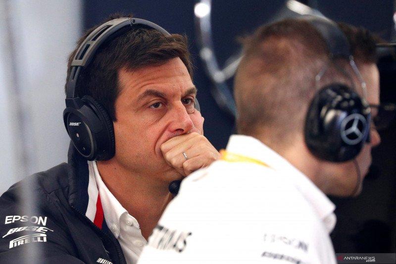 Bos Mercedes tak puas dengan hasil kualifikasi di Belgia