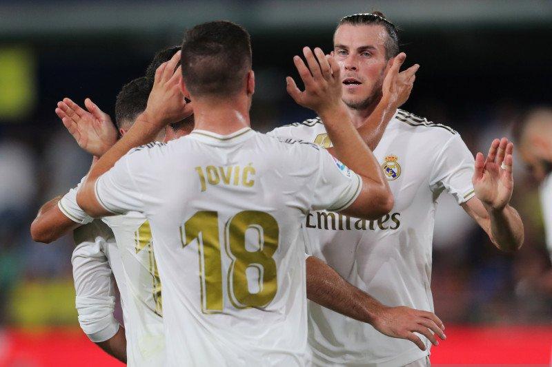Bale selamatkan wajah Zidane hadapi Villarreal