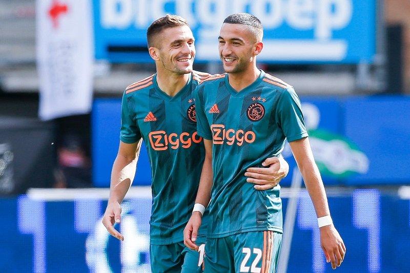 Ajax paksa tim promosi Sparta Rotterdam alami kekalahan perdana