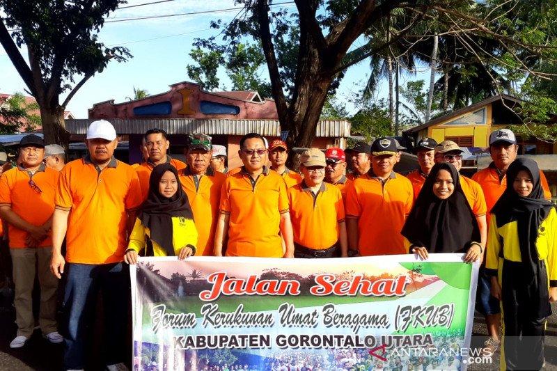 Wabup Gorontalo Utara canangkan kampanye kerukunan