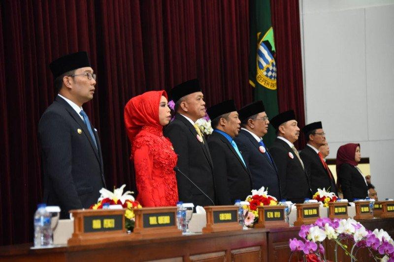 Ridwan Kamil ucapkan selamat kepada Anggota DPRD Jabar 2019-2024