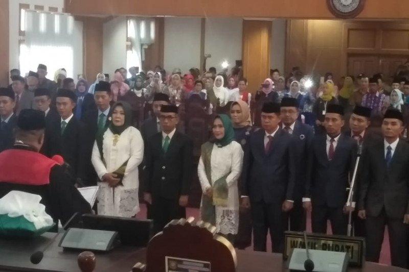 Bupati Ajak Anggota DPRD Konawe Utara 2019-2024 Bersinergi Bangun Daerah