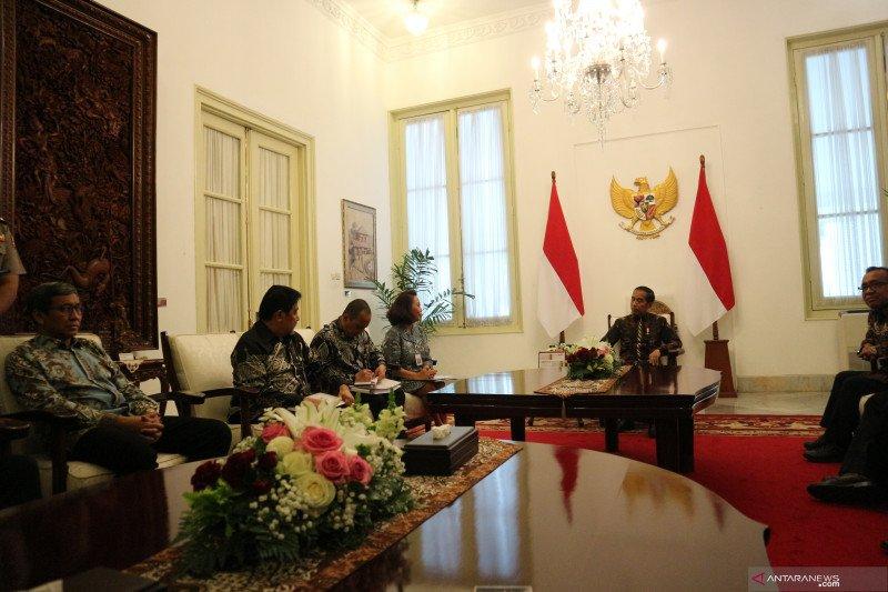 Presiden Jokowi minta pansel mengoreksi nama capim KPK