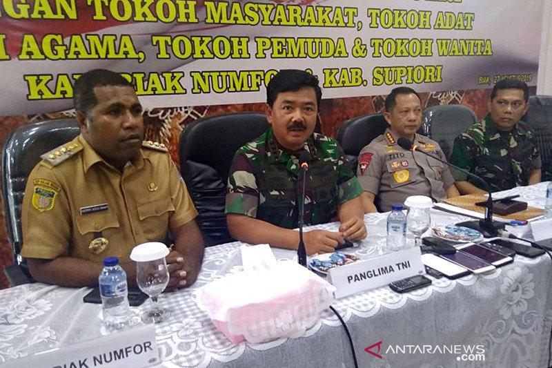 Papua terkini: Kapolri dan Panglima TNI berkantor di Papua