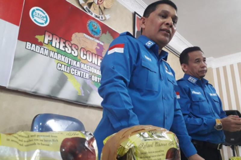 BNNP Lampung: Napi lapas kendalikan peredaran tiga kilogram sabu-sabu