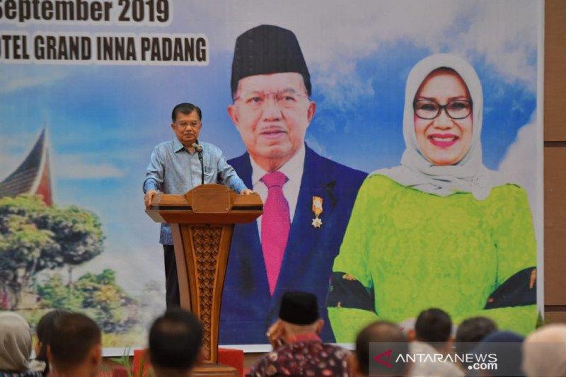 Wapres JK imbau generasi muda Minang hidupkan tradisi ke surau