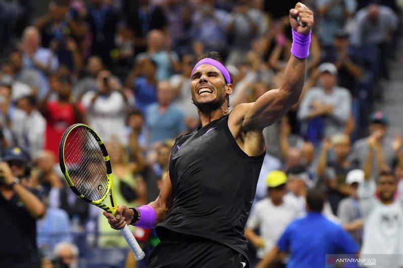Singkirkan Berrettini, Nadal lawan Medvedev di final US Open
