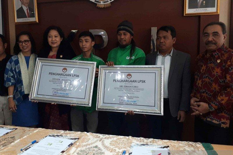LPSK apresiasi pengemudi ojek daring yang selamatkan korban TPPO