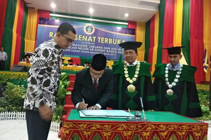 UIN-Aceh Jaya jalin kerja sama pengembangan SDM