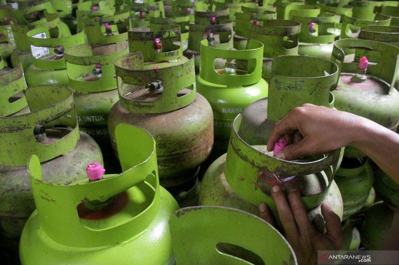 Satgas Pangan Bangka Barat segera tindak pengecer gas bersubsidi